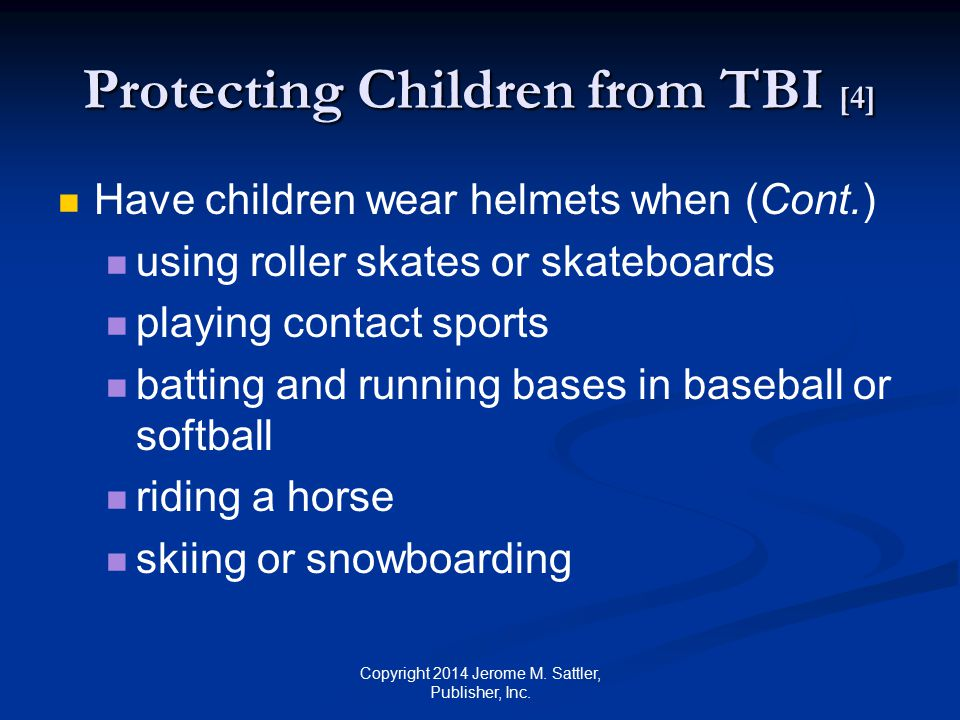 Protecting Children from TBI [4]